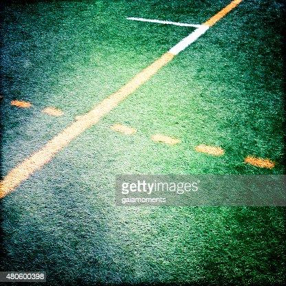 Artificial turf : Stock Photo