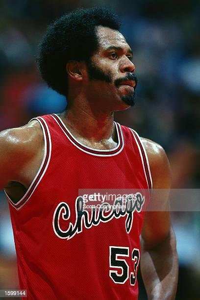 Artis Gilmore of the Chicago Bulls during an NBA game NOTE TO USER User expressly acknowledges and agrees that by downloading and or using this...