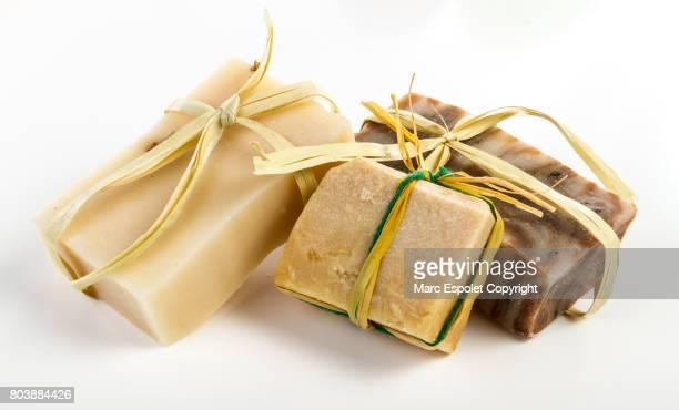 Artisan hand soap composition