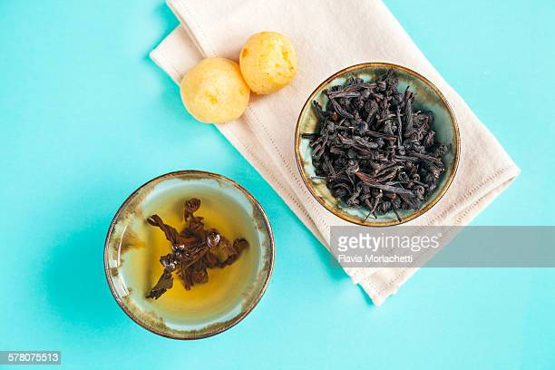 Artisanal black tea (knotted variety)