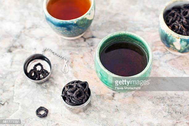 Artisanal black tea rings