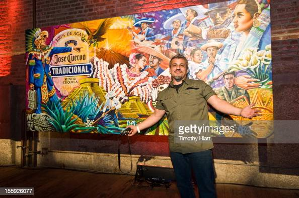 Jose cuervo tradicional stock photos and pictures getty for Chicago mural project