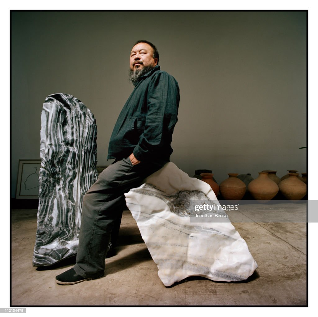 Artist <a gi-track='captionPersonalityLinkClicked' href=/galleries/search?phrase=Ai+Weiwei&family=editorial&specificpeople=4331218 ng-click='$event.stopPropagation()'>Ai Weiwei</a> is photographed for Vanity Fair Magazine on May 12, 2007 in Beijing, China. PUBLISHED