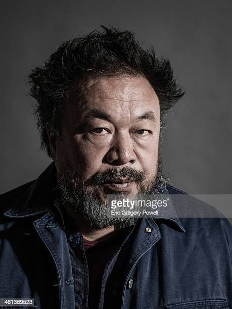 Artist Ai Weiwei is photographed on November 29 2013 in Beijing China