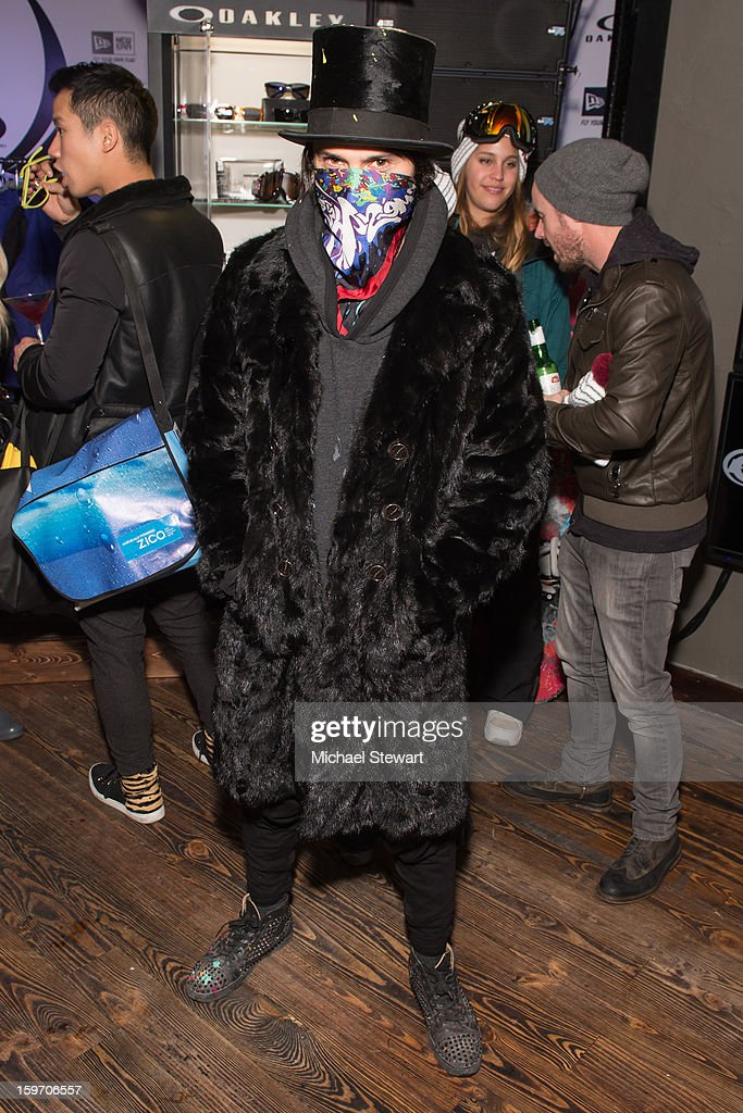 Artist Alec Monopoly attends Oakley Learn To Ride In Collaboration With New Era - Day 1 - 2013 Park City on January 18, 2013 in Park City, Utah.