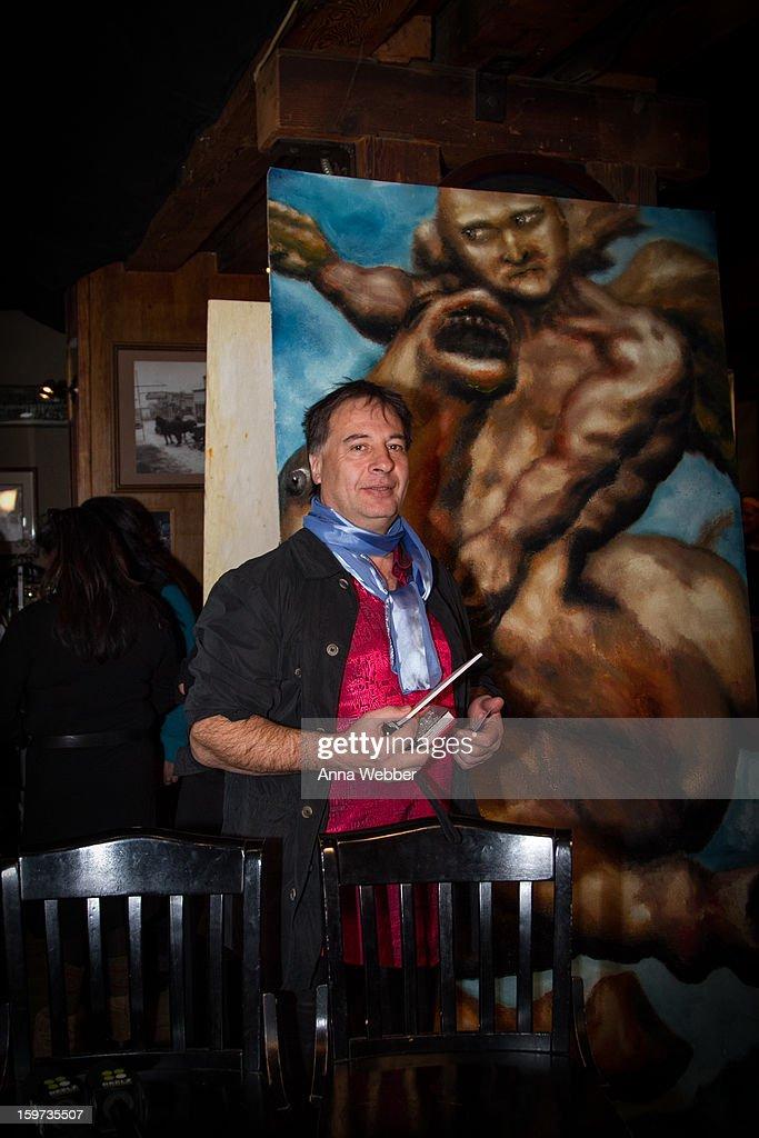 Artist Alexander Kanevsky attends Social Lodge At Sundance Film Festival at Cisero's Bar on January 19, 2013 in Park City, Utah.