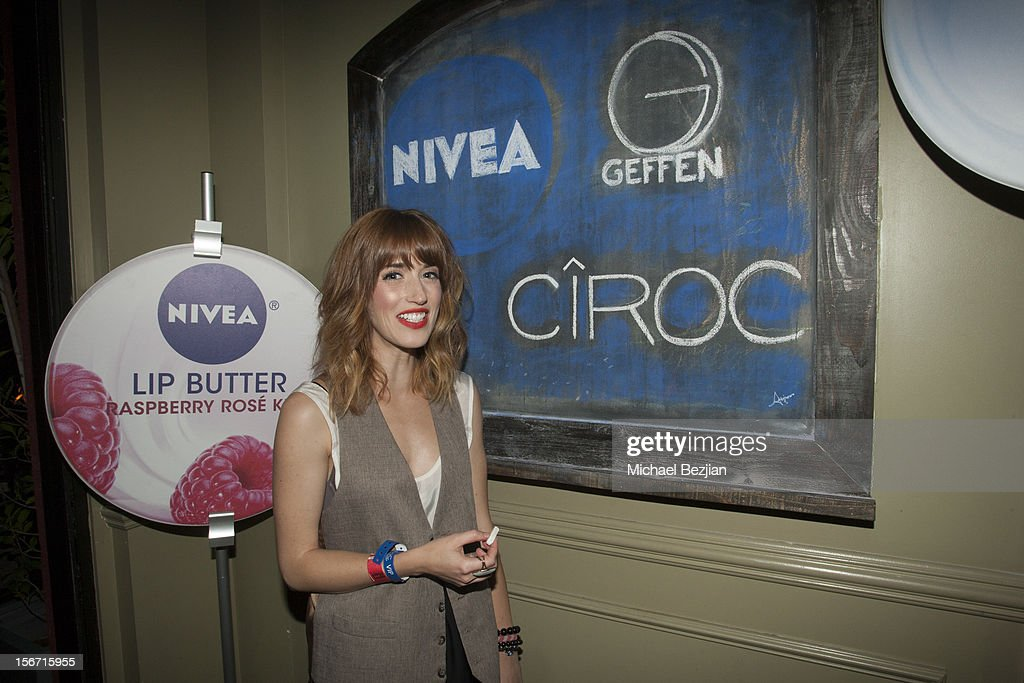 Artist Allison Bailey attends Interscope Records AMA After Party Hosted By NIVEA Lip Butters & Ciroc Ultra Premium Vodka Portraits Inside on November 18, 2012 in Los Angeles, California.