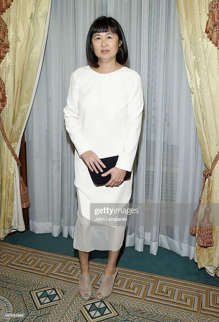 Artist and designer Maya Ying Lin attends 2015 MOCA Legacy Awards Gala at The Pierre Hotel on November 17, 2015 in New York City.