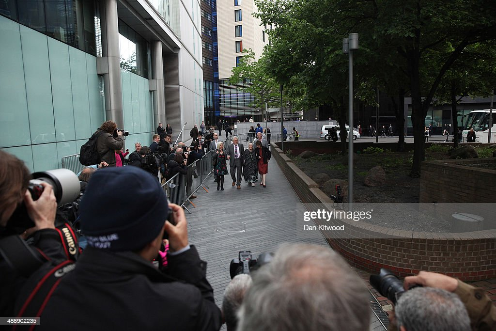 Artist and television personality <a gi-track='captionPersonalityLinkClicked' href=/galleries/search?phrase=Rolf+Harris&family=editorial&specificpeople=160469 ng-click='$event.stopPropagation()'>Rolf Harris</a> arrives at Southwark Crown Court on May 9, 2014 in London, England. Mr Harris, who was arrested in March 2013 by police officers working for Operation Yewtree, denies 12 charges of indecent assault against four girls.