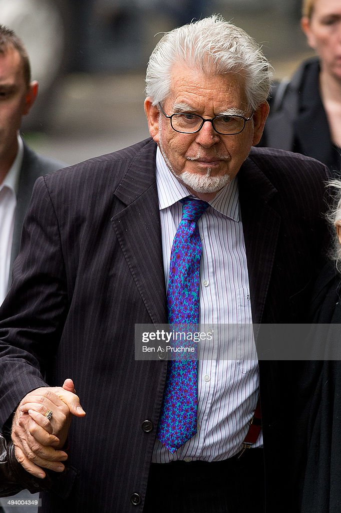 Artist and television personality Rolf Harris arrives at Southwark Crown Court on May 27 2014 in London England Harris who was arrested in March 2013...