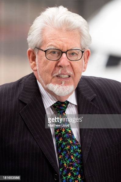 Artist and television personality Rolf Harris arrives at The City of Westminster Magistrates Court on September 23 2013 in London England Mr Harris...