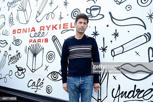 Artist Andre attends the Sonia Rykiel show as part of the Paris Fashion Week Womenswear Fall/Winter 2015/2016 on March 9 2015 in Paris France