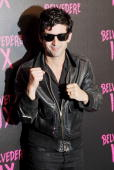 Artist Andre Saraiva arrives at the 'Belvedere IX' Launch at MyHouse on February 5 2009 in Hollywood California