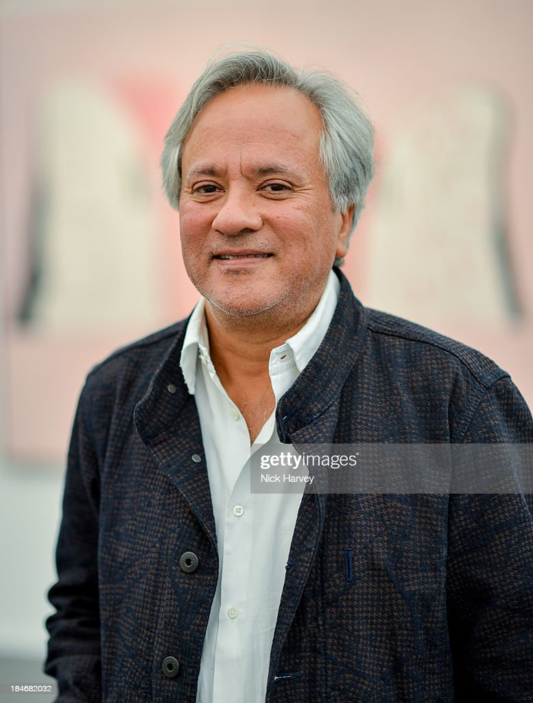 Artist <a gi-track='captionPersonalityLinkClicked' href=/galleries/search?phrase=Anish+Kapoor&family=editorial&specificpeople=3965986 ng-click='$event.stopPropagation()'>Anish Kapoor</a> attends the private view for Frieze Masters on October 15, 2013 in London, England.