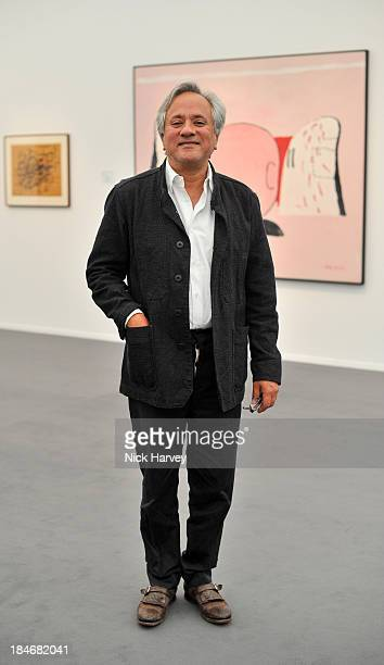 Artist Anish Kapoor attends the private view for Frieze Masters on October 15 2013 in London England