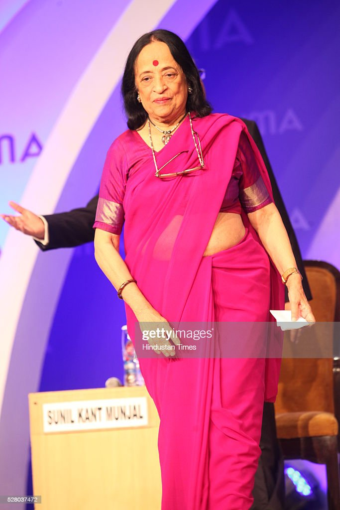 Artist Anjolie Ela Menon during the All India Management Association (AIMA)s Managing India Awards 2016 at Hotel Taj Palace in New Delhi, India.