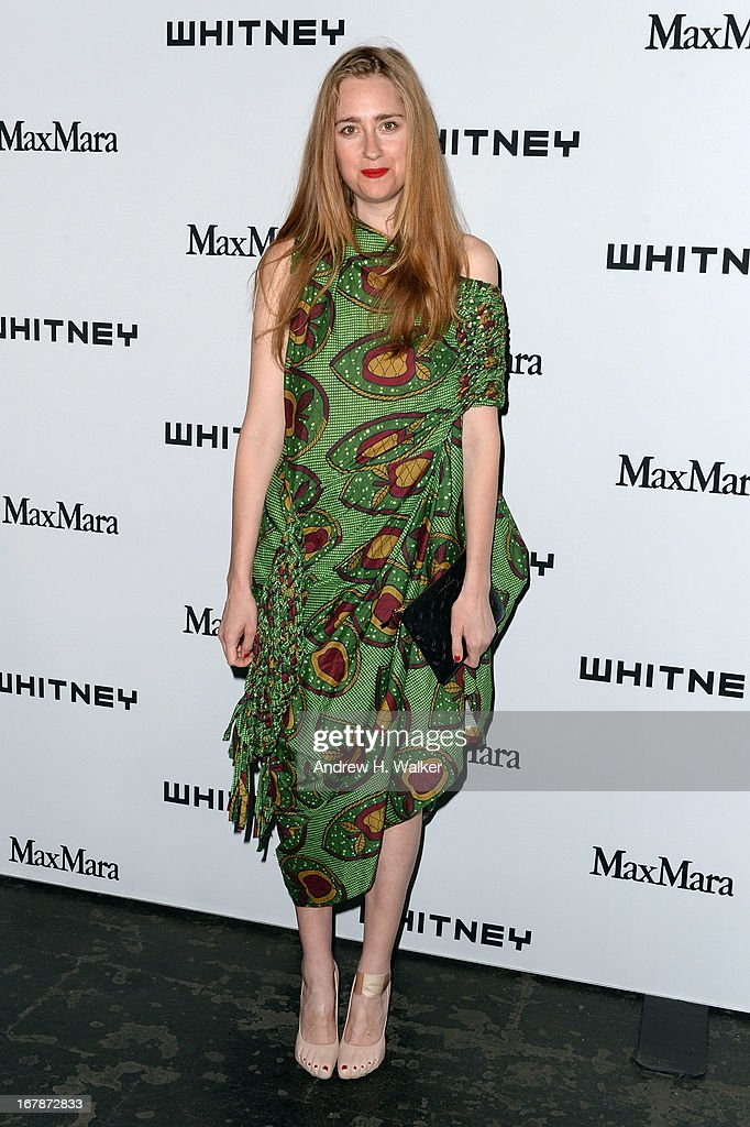 Artist Anne Koch arrives at the Whitney Museum Annual Art Party on May 1, 2013 in New York City.