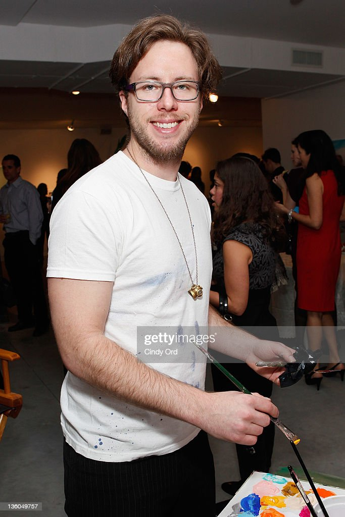 Artist Ari Lankin attends the 2011 Hope for Them Foundation Holiday Toy drive at Gallery 151 on December 17, 2011 in New York City.