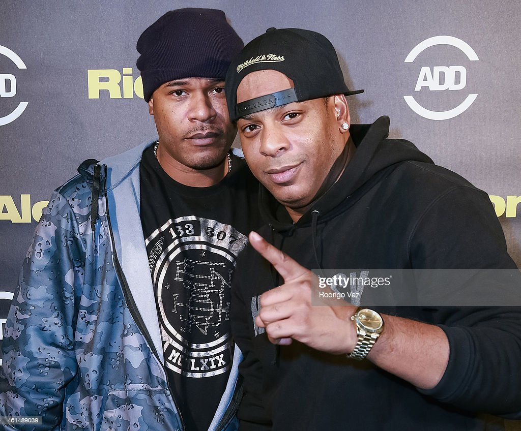 Artist Bagetz and producer Omar 'Iceman' Sharif attend the ADD Comedy Live! Special Screening of 'Ride Along' on January 8, 2014 in Los Angeles, California.