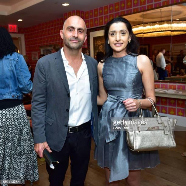Artist Bill Claps and Avanti Gupta attend the launch of The Collector Geneva's Sophie Bonvin Code Collection in Collaboration with artist Bill Claps...