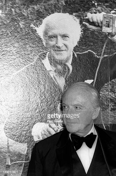 Artist Cecil Beaton attends the art opening of 600 Faces by Cecil Beaton on May 3 1969 at the Museum of New York City in New York City