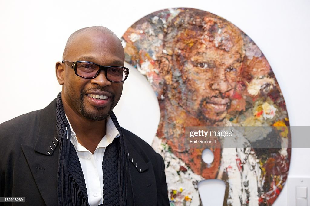 Artist Chaz Guest at his Retrospective Art Showing entitled 'Visions Of Mexico' at Quinn Studios on October 25, 2013 in Santa Monica, California.