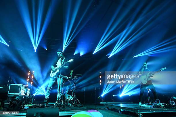 Artist Cherub performs at the 2014 Bonnaroo Music Arts Festival on June 12 2014 in Manchester Tennessee