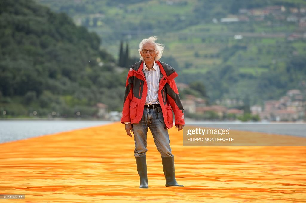 Artist Christo Lets Us Walk On Water