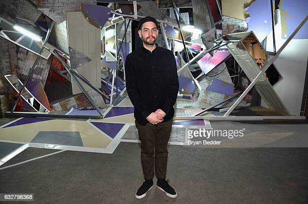 Artist Clemens Behr attends the FX's Legion WhereHouse at Villian on January 26 2017 in Brooklyn New York