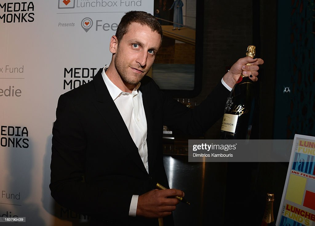 Artist Curtis Kulig attends The Lunchbox Fund Fall Fête at Buddakan, New York on October 9, 2013 in New York City.