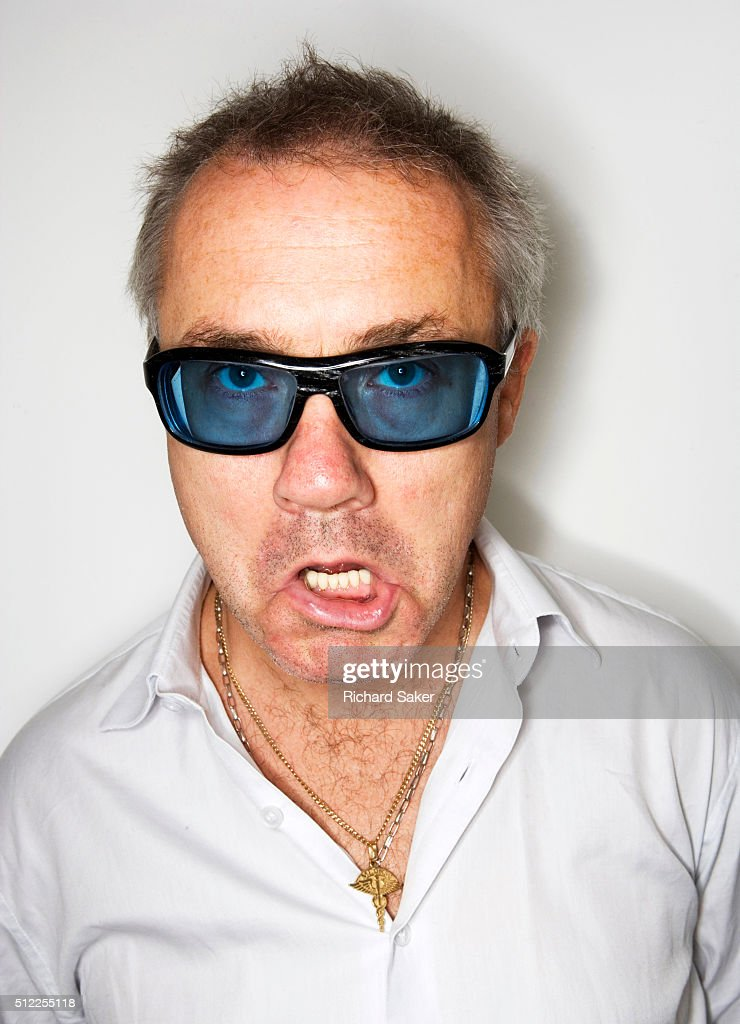 Artist <a gi-track='captionPersonalityLinkClicked' href=/galleries/search?phrase=Damien+Hirst&family=editorial&specificpeople=215142 ng-click='$event.stopPropagation()'>Damien Hirst</a> is photographed for the Observer on September 14, 2010 in London, England.