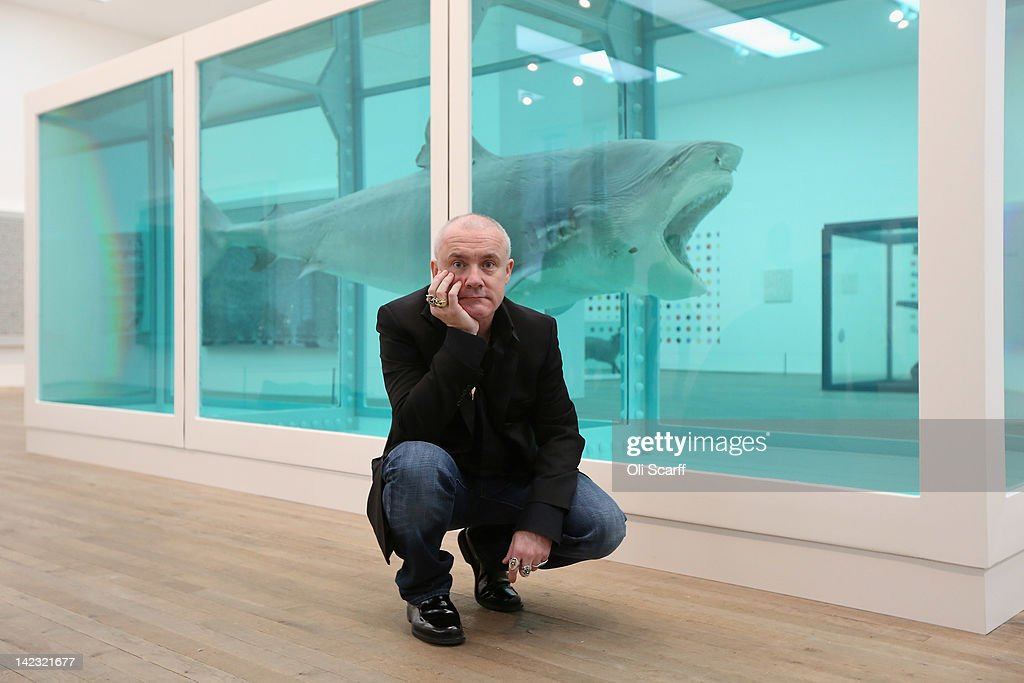 Tate Modern Launch The Damien Hirst Retrospective