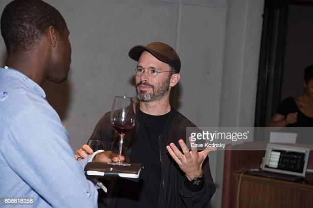 Artist Daniel Arsham attends the Daniel Arsham 'Colorblind Artist In Full Color' at Spring Place on September 19 2016 in New York City
