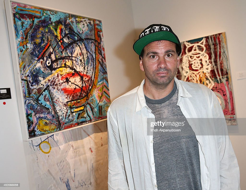 Artist Danny Minnick attends a ZTPR Agency Summer Soiree at Gallerie Sparta on July 12, 2014 in West Hollywood, California.
