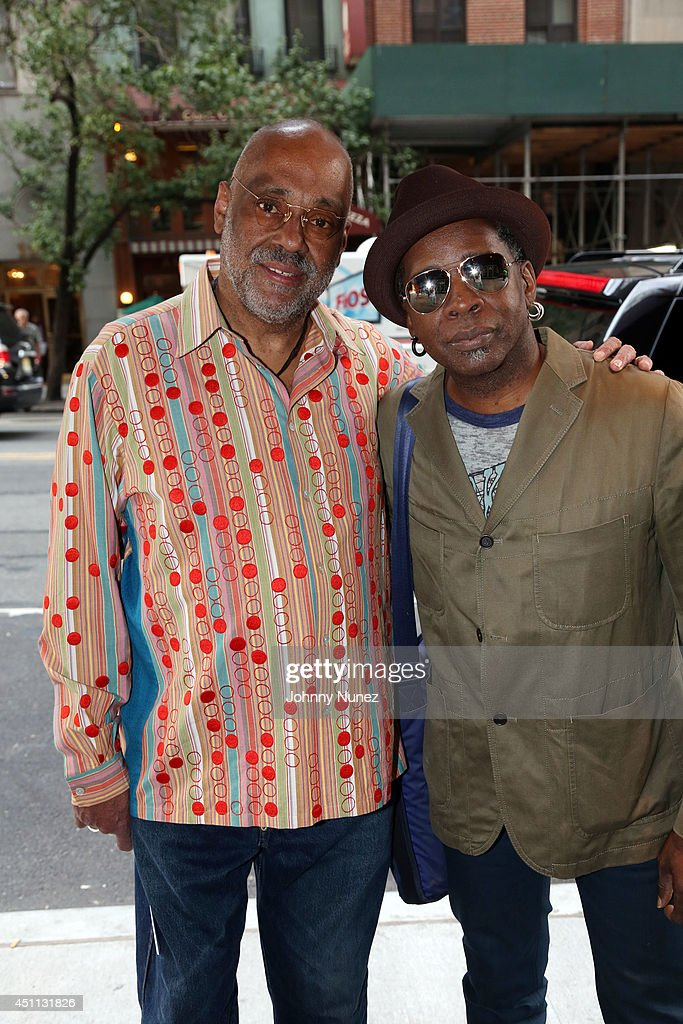 Artist Danny Simmons and guitarist Vernon Reid attend Spike Lee's 'Da Sweet Blood Of Jesus' cast and crew special screening at DGA Theater on June 23, 2014 in New York City.