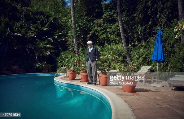 Artist David Hockney is photographed for the Observer on October 28 2014 in Los Angeles California