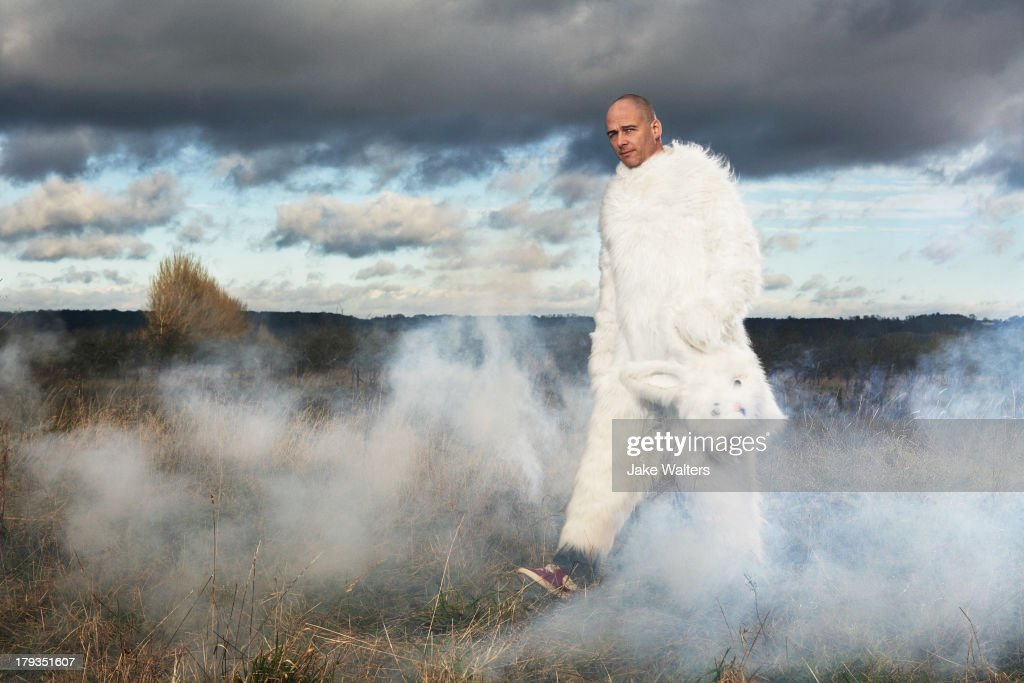 Artist Dinos Chapman is photographed for Vinyl Factory on September 12, 2012 in London, England.