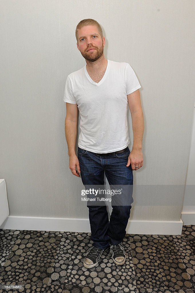 EDM artist DJ Morgan Page poses for the camera during Winter Music Conference 2013 on March 21, 2013 in Miami Beach, Florida.