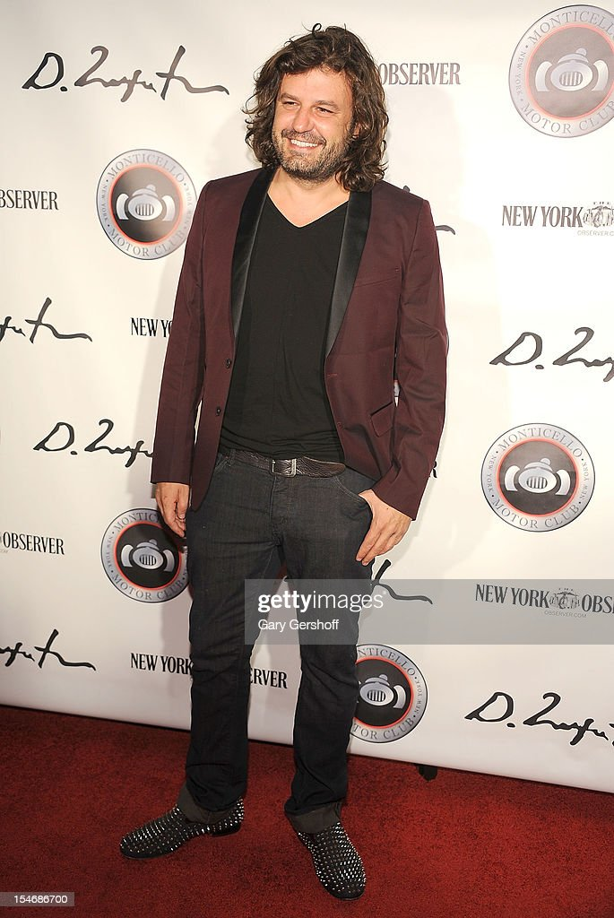 Artist Domingo Zapata attends the Artist Domingo Zapata VIP Art Reception at The Bowery Hotel on October 24, 2012 in New York City.