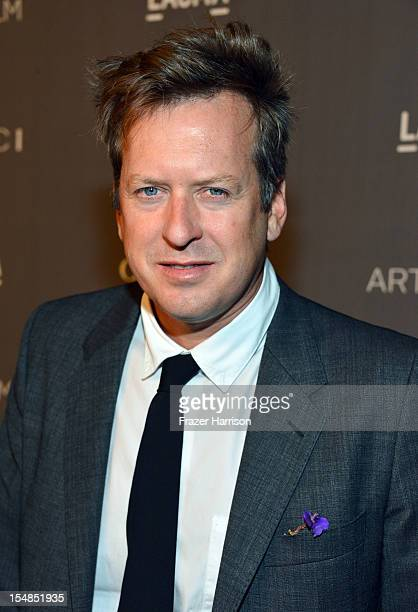 Artist Doug Aitken arrives at LACMA 2012 Art Film Gala Honoring Ed Ruscha and Stanley Kubrick presented by Gucci at LACMA on October 27 2012 in Los...