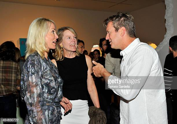 Artist Doug Aitken attends the Doug Aitken Still Life Opening Reception and Dinner at Regen Projects on September 6 2014 in Los Angeles California