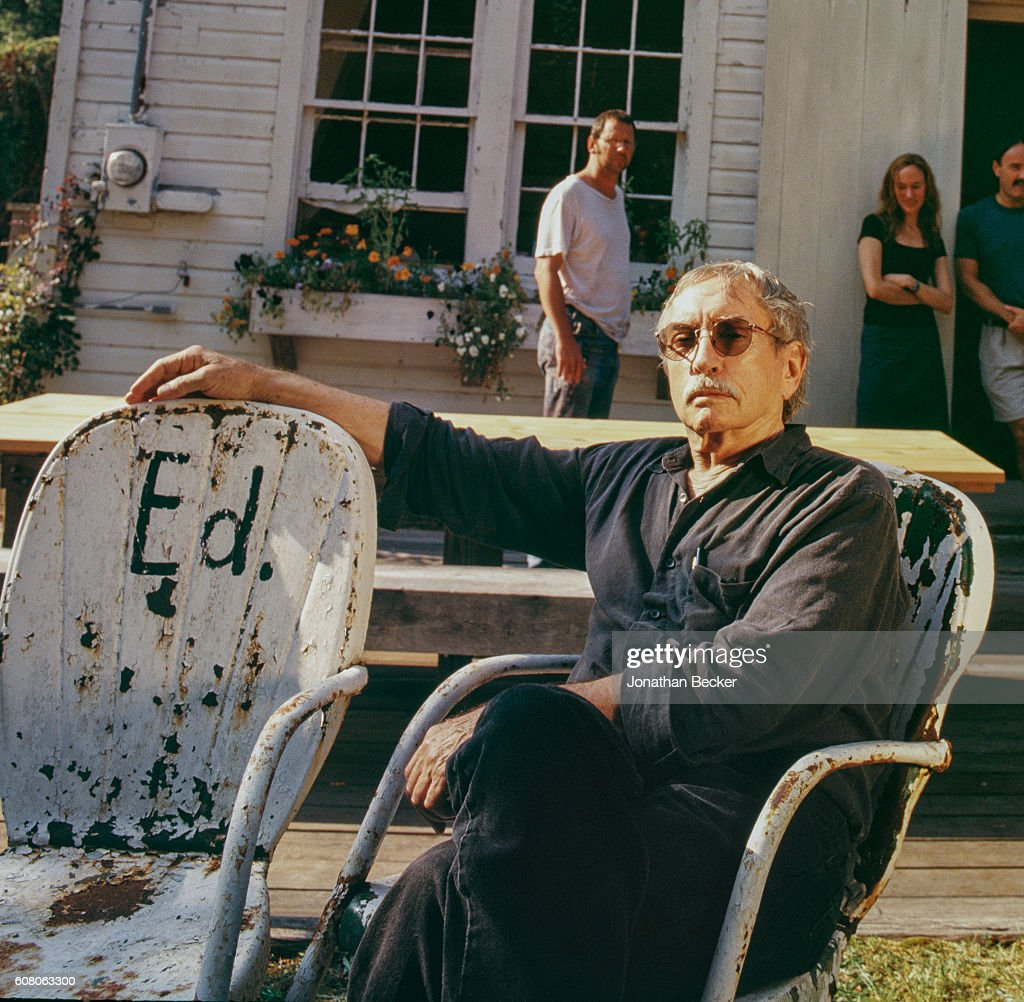 Edward Albee and Jonathan Thomas, Abrams, September 22, 2001