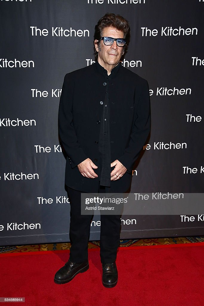 Artist Edward Longo attends 2016 Kitchen Spring Gala Benefit at Cipriani Wall Street on May 26, 2016 in New York City.