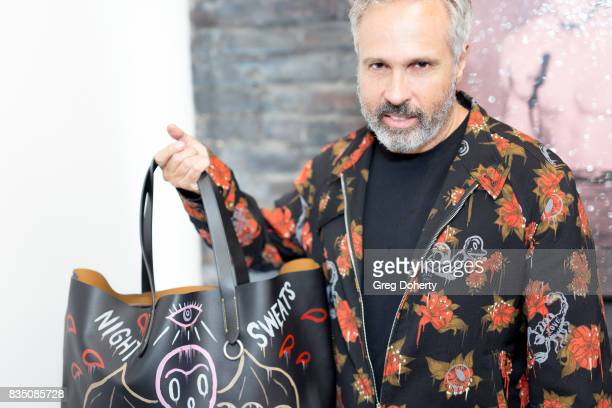 Artist Gary Baseman attends the Art Of Elysium 20th Anniversary Celebration at therethere on August 17 2017 in Los Angeles California