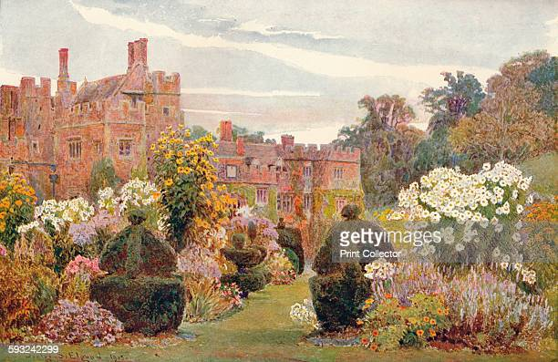 Artist George Samuel Elgood 'Penshurst Kent' 1903 Penshurst Place is a historic building near Tonbridge Kent It is the ancestral home of the Sidney...