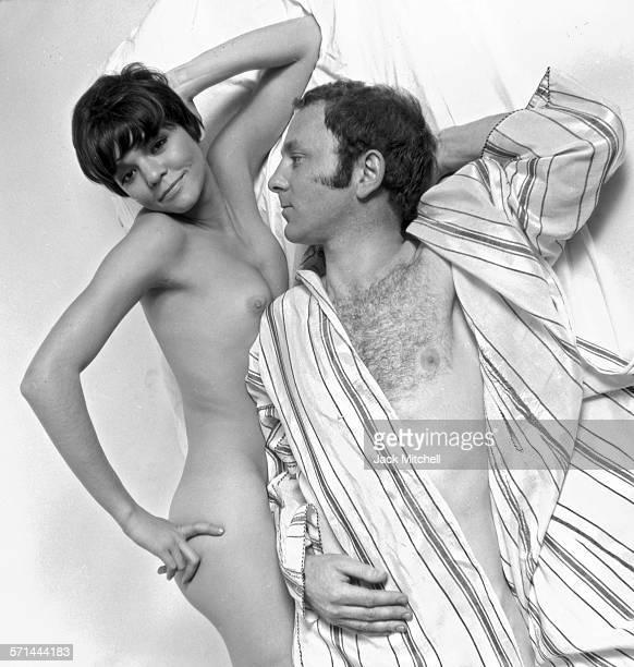 Artist Gerald Laing and his wife Galina Golikova