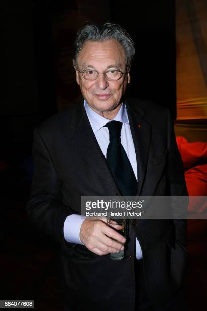 Artist Gerard Garouste attends the 'Bal Jaune Elastique 2017' Dinner Party at Palais Brongniart during FIAC on October 20 2017 in Paris France