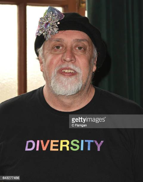 Artist Gilbert Baker attends the Screening Of ABC's 'When We Rise' at Castro Theatre on February 20 2017 in San Francisco California