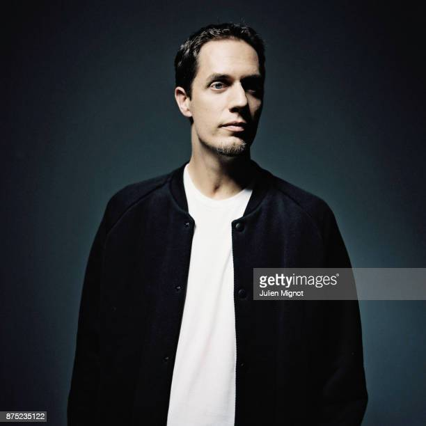 Artist Grand Corps Malade is photographed for label Cinq Sept on September 2013 in Paris France
