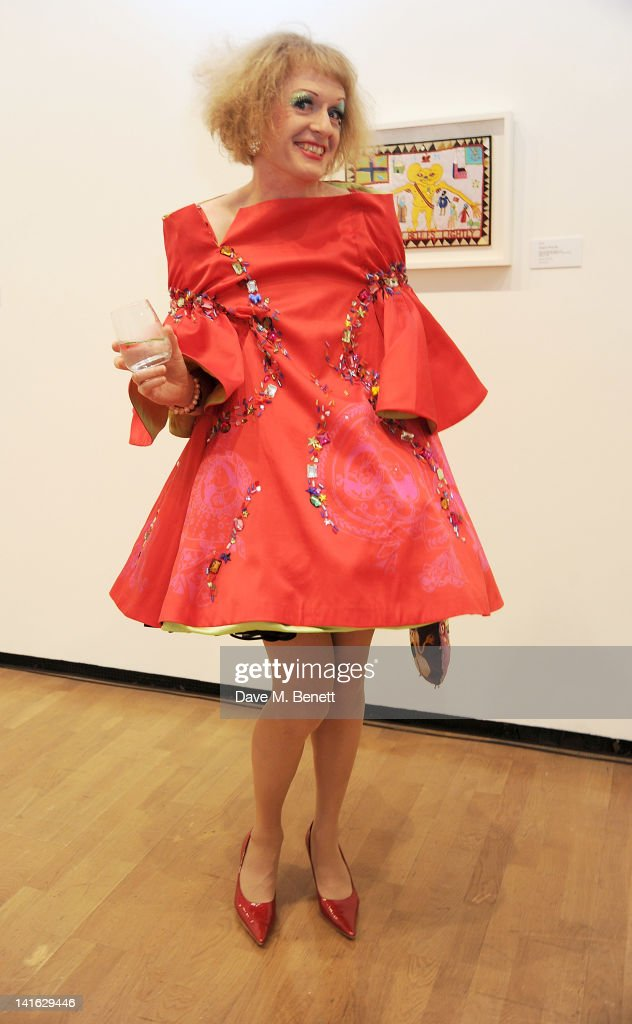 Artist Grayson Perry attends the Royal Academy Schools Dinner and Auction at The Royal Academy of Arts on March 20 2012 in London England